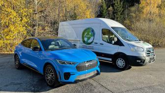 Ford på Oslo Motorshow: Mye muskler, elektriske drivlinjer og Norgespremiere for Ford E-Transit