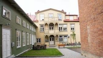 Panthuset 7 i Östersund är en av de fastigheter som Riksbyggen förvärvar