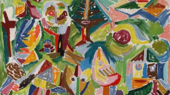 "Asger Jorn: ""Landscape in Finkidong"" (1945)"