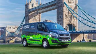 Ladbare varebiler fra Ford skal gi bedre London-luft
