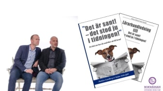 """""""Det är sant – det stod ju i tidningen"""" till Bokmässan 2016."""