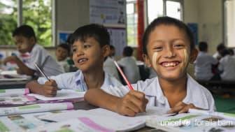 UNICEF Sverige fortsätter sin digitaliseringsprocess och fördjupar relationen med givare och supporters. Foto: ©UNICEF