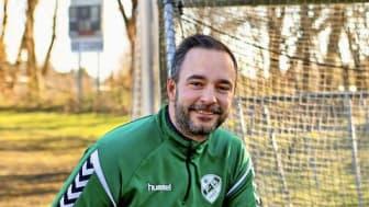 Peter Dyrstrøm fra Faxe Boldklub