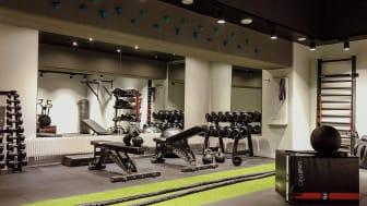 Det nya gymmet på Clarion Hotel Amaranten är skapat i samarbete med Casall PRO!