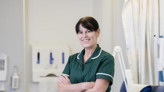 Susan Miller, one of the first students to enrol in a new 18 month nurse degree apprenticeship.