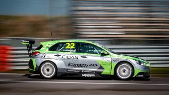 Albin Wärnelöv, Experion Racing, foto: Anders Helgesson