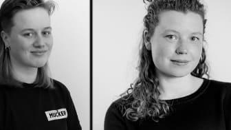 Edith Hammar och Johanna Minde. Foto: Collage, privat ägo.