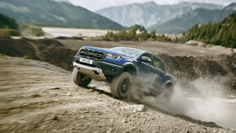 Råtasspickupen Ford Ranger Raptor til Europa