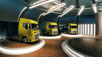 DAF Trucks visualiserar sitt varumärke nya generationens XF, XG och XG+ på datorskärmar och mobila enheter med förstärkt verklighet och en virtuell upplevelse.