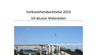 C SVU-rapport: Verksamhetsberättelse VA-kluster Mälardalen 2010 (avlopp)