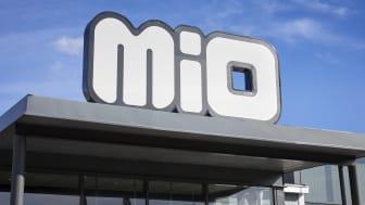 Högtryck på Mio i sommar i både fysisk butik och på webben