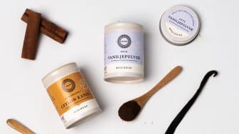 Kanel og vanilje fra Helios