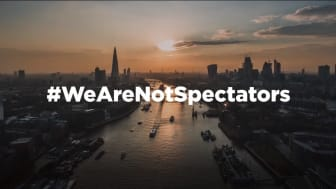 #WeAreNotSpectators - Community sport groups' covid-19 support highlighted in new video campaign