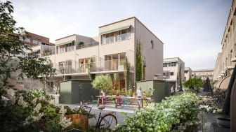 28stadsradhus och 54 lägenheter uppförs i porslinskvarteren, Gustavsberg.
