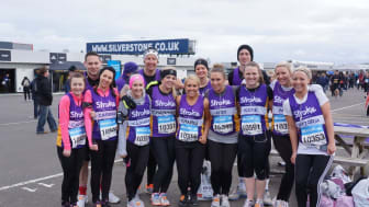 The Stroke Association calls on runners to race at Silverstone