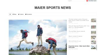 Neu: Jetzt dem Maier Sports newsroom International folgen