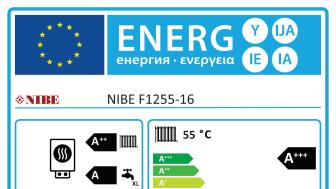 Högsta betyg i den nya energimärkningen!