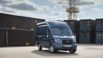 AZ új 2 tonnás Ford Transit Van