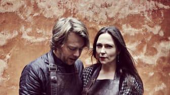 Irene Heggem og Rasmus Cold som står bag Brilleskrædderiet Cold Heggem