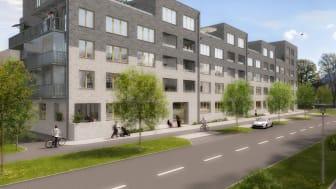 Bonum byggstartar 70 nya seniorbostäder i Malmö