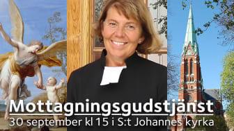 Catharina Segerbank installeras som S:t Johannes församlings kyrkoherde.