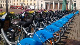 Cykelpool i Göteborg. Foto: Tove Lund