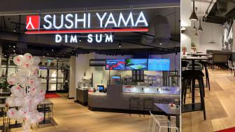 Sushi Yama Dim Sum i Cityhuset, Eskilstuna.