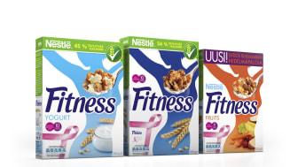 Nestlé FITNESS pääyhteistyökumppanina Roosa nauha -kampanjassa