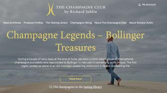 New digital platform champagneclub.com
