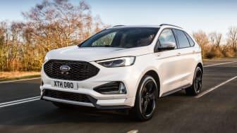 NY STOR-SUV:  Nye Ford Edge ble idag presentert for det europeiske markedet. Den er allerede blitt utnevnt til den mest teknologiske avanserte SUVen fra Ford noensinne.