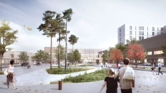 LINK, RATIO and BØLGEBLIKK have been chosen to design the New Drammen Hospital, Norway