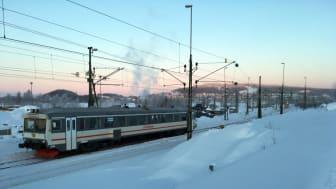 Premiären för Snötåget är 21 december.