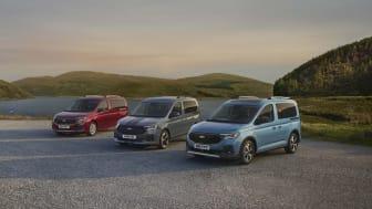 Den nye rummelige Ford Tourneo Connect.