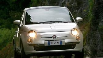 Fiat 500 bästa kompaktbil i Japan