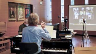 Digitale Chorprobe beim Thomanerchor - Foto: Roland Weise