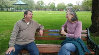 Happy to chat? Take a seat in Bury's Green Flag parks
