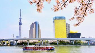 TOKYO SKYTREE and Sumida River