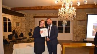 """Vadstena Klosterhotel vinnare av """"Most Romantic Historic Hotel of Europe"""""""
