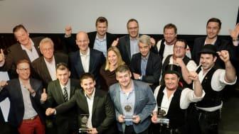 Die glücklichen Gewinner des Sanierungspreis 17