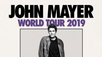 "John Mayer ""World Tour 2019"""