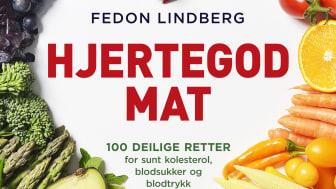 """Fedon Lindbergs bok """"Hjertegod mat"""" er ment å bidra med praktisk kunnskap og inspirasjon til deg som er opptatt av å styrke hjertet ditt og holde deg frisk"""