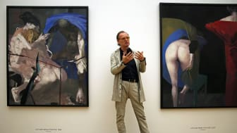 """Dr. Alfred Weidinger zur Eröffnung der """"Arno Rink. Ich male!"""" Ausstellung im Museum der bildenden Künste"""