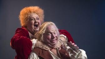 """Sveriges nya sommarteater i högform inför premiären av musikalkomedin """"Jeppe på berget"""" med Claes Malmberg och Marianne Mörck!"""
