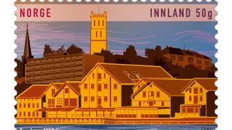 Tønsberg feirer 1150 år. Posten markerer begivenheten med nytt frimerke