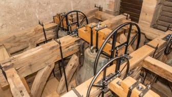 Sanierungspreis 17 Holz: Mit der Sanierung des  Glockenstuhls der Hochsaler Pfarrkirche schaffte die Zimmerei Denz ein absolutes Meisterstück.