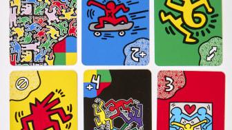 """UNO """"Artiste Series"""" inspiriert von Keith Haring"""