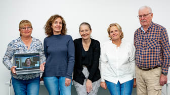Arbets- och beredskapsgruppen för brukarsamverkan, med representanter från funktionsstödsförvaltningen och föreningar i Malmö, hälsar dig varmt välkommen. Fotograf: Roger Nellsjö.
