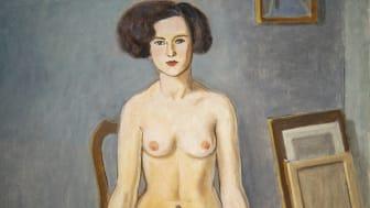 Modellen, 1927. Konstnär Einar Jolin.