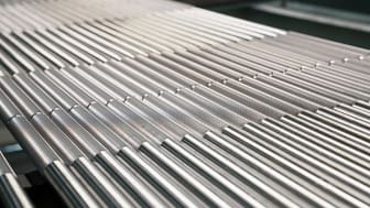 Svenskt hållbart stål med unika egenskaper optimerade för skivstänger.