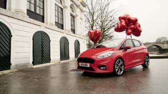 Ford Fiesta hjälper till att leverera en unik alla hjärtans dag-upplevelse.